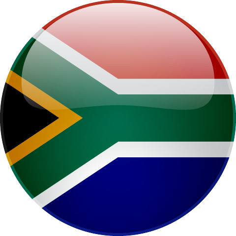 South African Rand flag